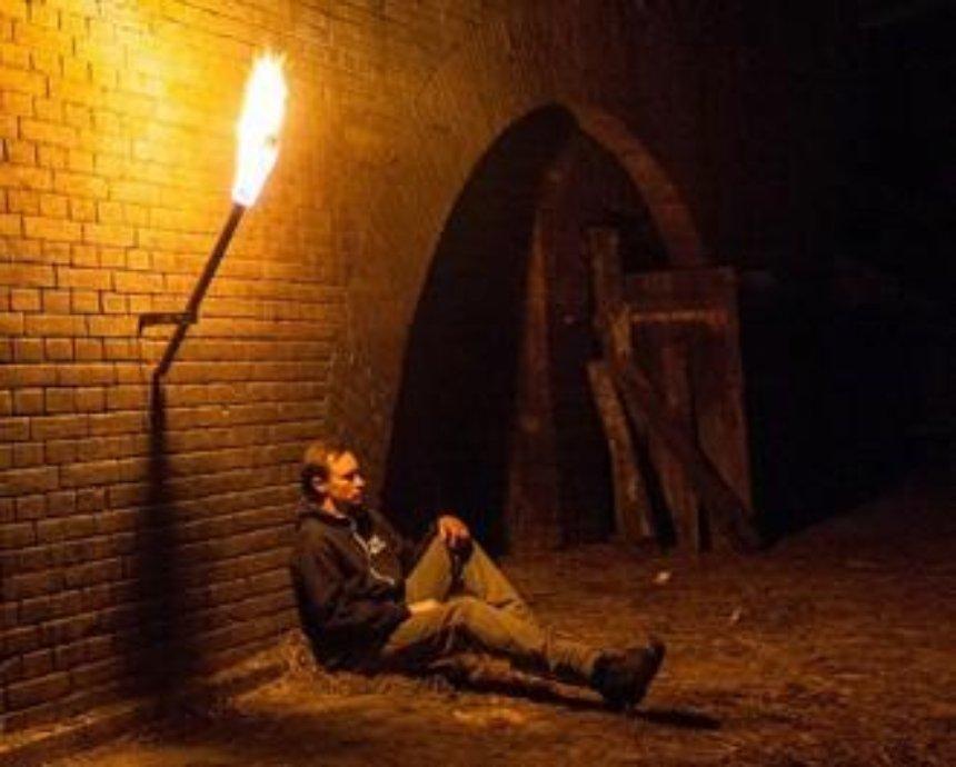"""Глубоко под Киевом: """"тюрьма НКВД"""" и контрминная галерея"""