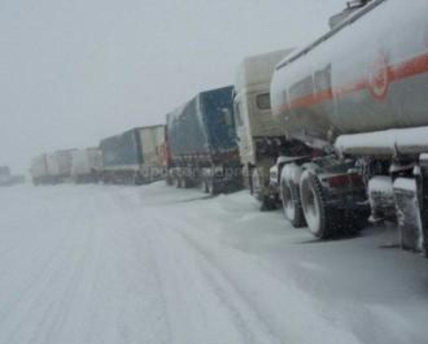 Ограничение для въезда грузовиков в Киев снято