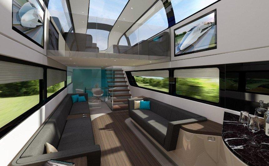 """Не стримуй фантазію: """"Укрзалізниця"""" оголосила конкурс на кращий дизайн інтер'єру вагонів"""