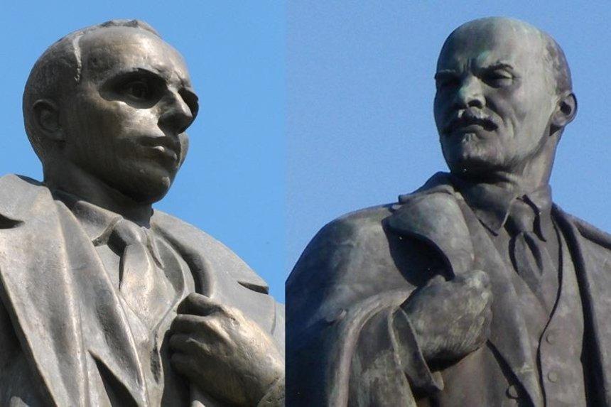 Бандера вместо Ленина: киевляне нашли замену памятнику на Бессарабке