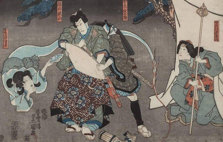 """""""Мир кабуки"""": в Киеве пройдет выставка удивительных японских гравюр"""