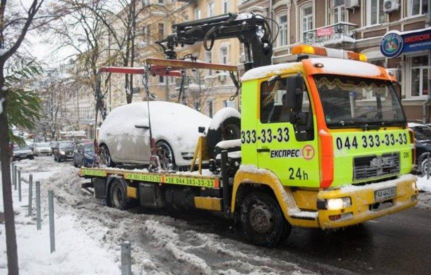 Не рискуйте: машины, мешающие уборке снега, будут эвакуировать