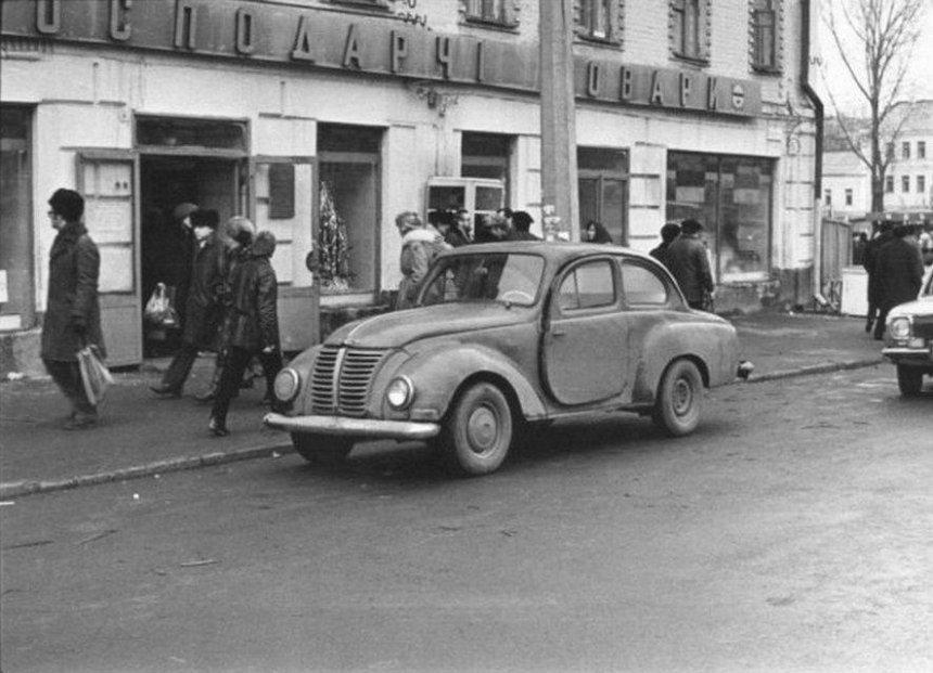 История с мотором: какими были первые автомобили в Киеве (фото)