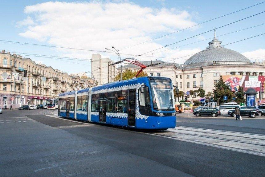 Какой будет новая трамвайная линия в центре Киева