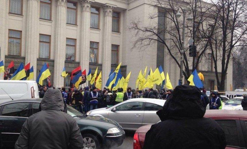 Металлоискатели и Нацгвардия: в центре Киева усилили меры безопасности (фото, видео)