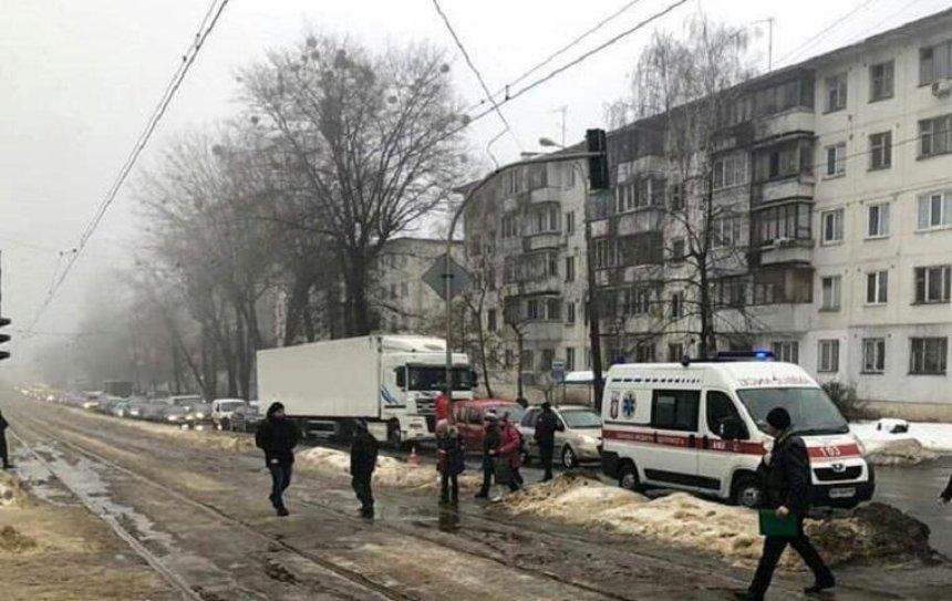 В Шевченковском районе грузовик переехал насмерть пожилую женщину (фото) (обновлено)