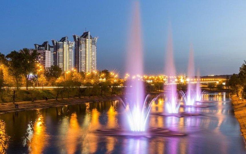 На Русановке хотят построить дополнительные плавучие фонтаны