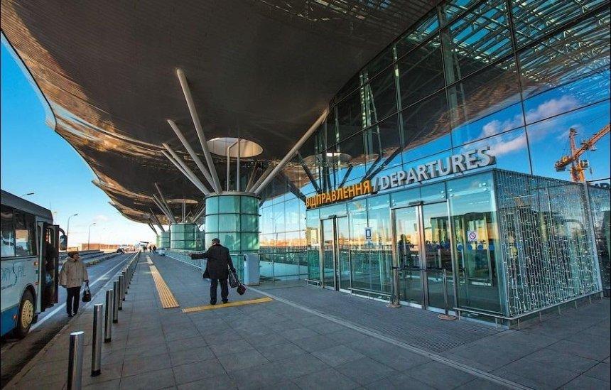В аэропорту «Борисполь» появится автостанция на 16 платформ