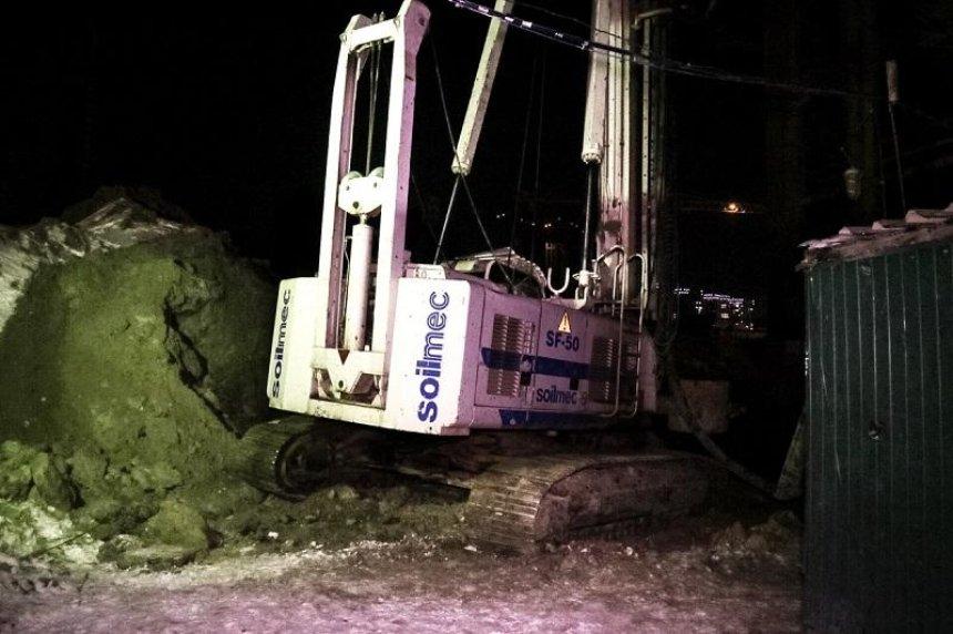 На будівництві у Дарницькому районі загинув чоловік (фото)