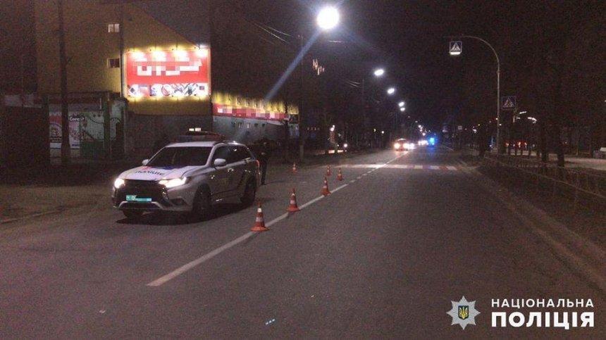 В Киевской области патрульные сбили пешехода