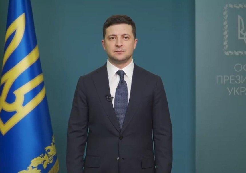 Владимир Зеленский поздравил украинцев с Днем соборности Украины