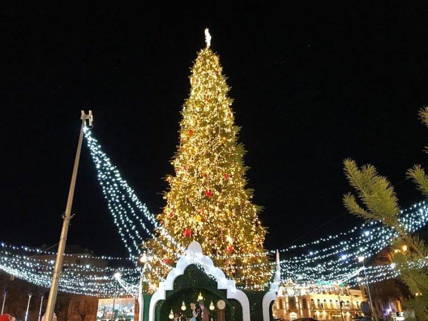 Елка на Софийской площади вошла в топ-5 самых красивых елок Европы