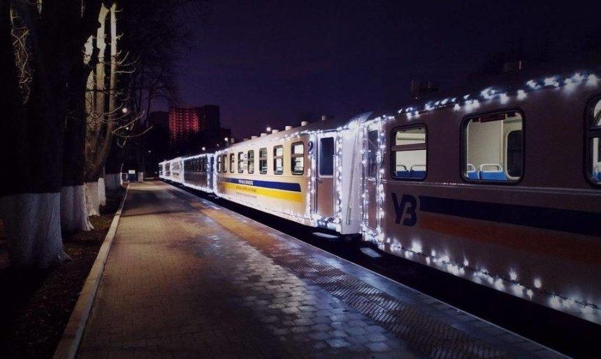 Детская железная дорога в Киеве закроется до мая