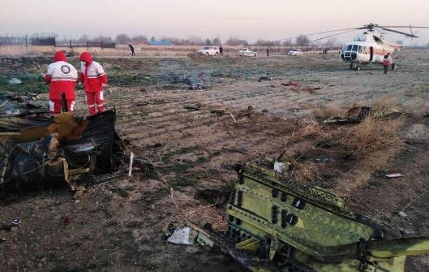В Иране разбился самолет МАУ (фото, видео) (обновлено)