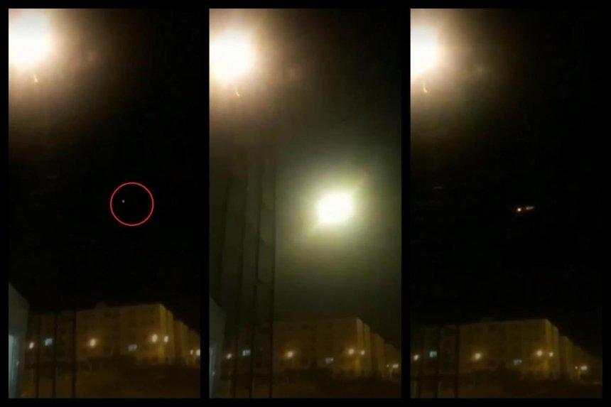 NYT опубликовало видео возможного поражения самолета МАУ ракетой (видео)