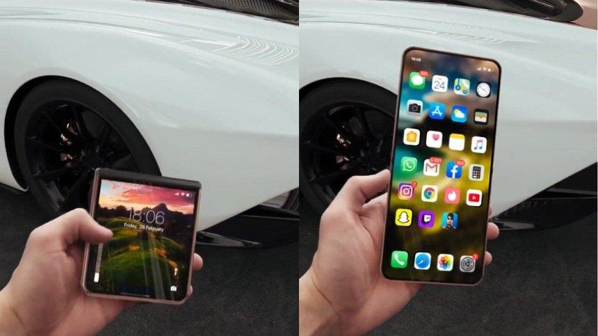 Компания Apple разрабатывает гибкий экран для новых iPhone