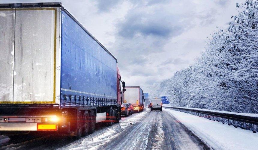 С28января вКиеве ограничат въезд крупногабаритного транспорта: причина