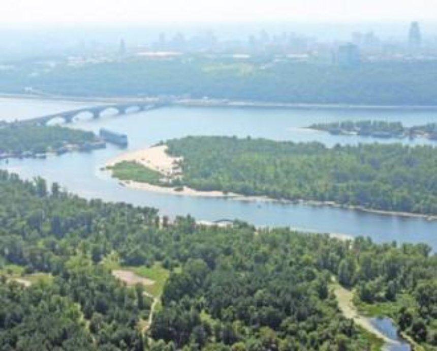 На киевских островах построят спортивные объекты и зоны отдыха