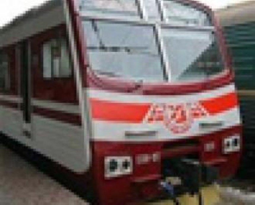 Электричка из Киева в «Борисполь» отменяется