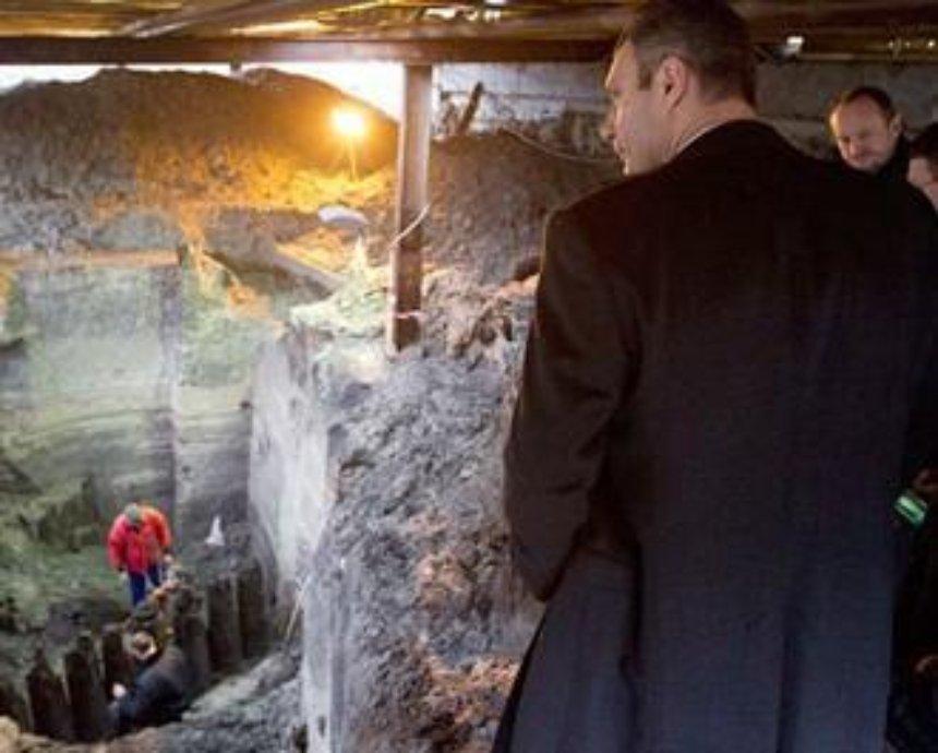 Кличко запретил строить ТЦ на месте древнекиевской улицы (фото)