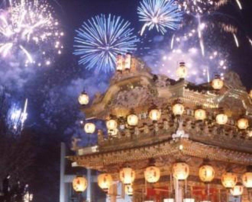Киевляне смогут увидеть праздничный фейерверк из Пекина и Шанхая