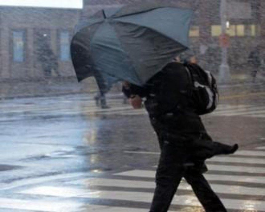 Киевлянам рекомендуют в первый день весны не выходить на улицу