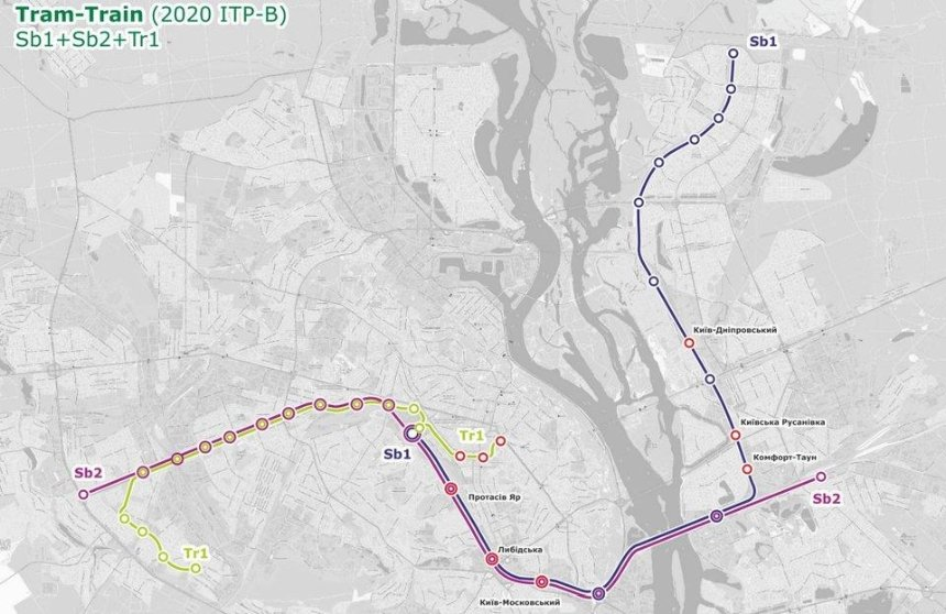 От берега к берегу: как будет ездить новый трамвай-поезд (схема)