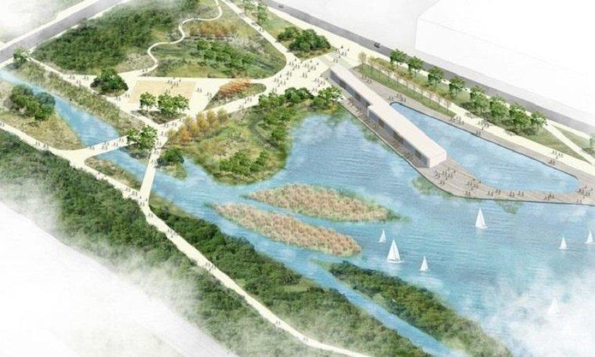 В столице обустроят парк «Почайна» (фото)