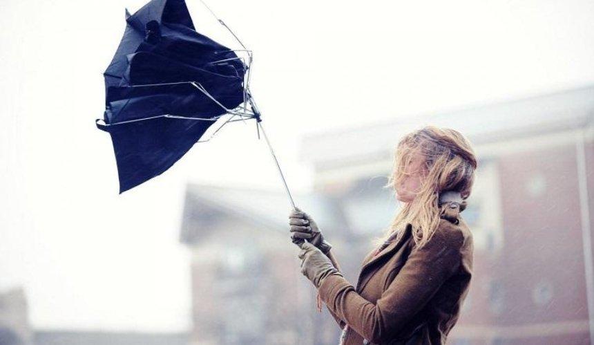 «Україна без сміття» подарит сломанным зонтикам вторую жизнь