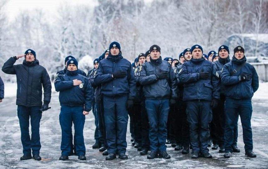 В полиции начался флэшмоб «Я — Бандера»