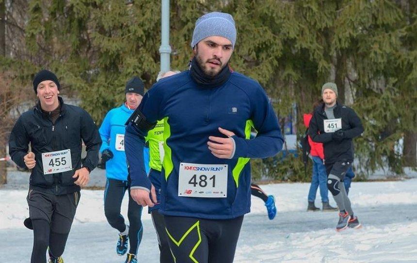 В Голосеевском парке состоится забег Snow Run