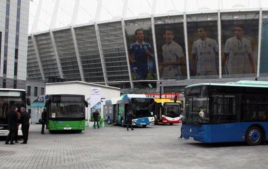 В «Олимпийском» пройдет выставка пассажирского транспорта