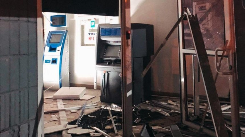 На Троещине неизвестные взорвали отделение банка