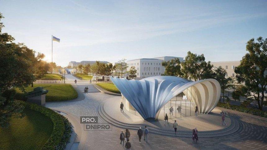Как будут выглядеть станции метро в Днепре, спроектированные бюро Zaha Hadid