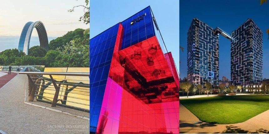 «Стеклянный» мост иеще шесть киевских проектов номинированы наархитектурную премию ЕС