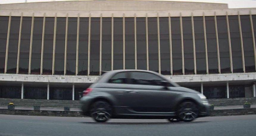 Итальянский автопроизводитель Abarth снял рекламу в Киеве