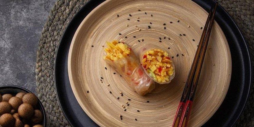 Новое место: азиатская кухня в «Дзяо-баре» на проспекте Тычины