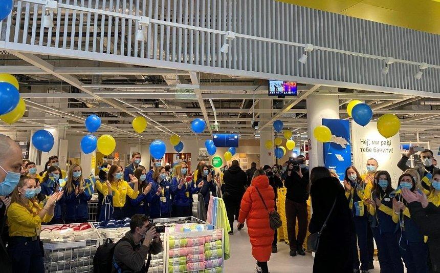 В Киеве открылся первый магазин IKEA