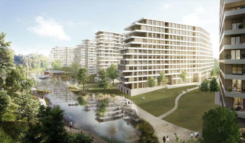 На Подоле хотят построить новый микрорайон с культурным центром и бассейном