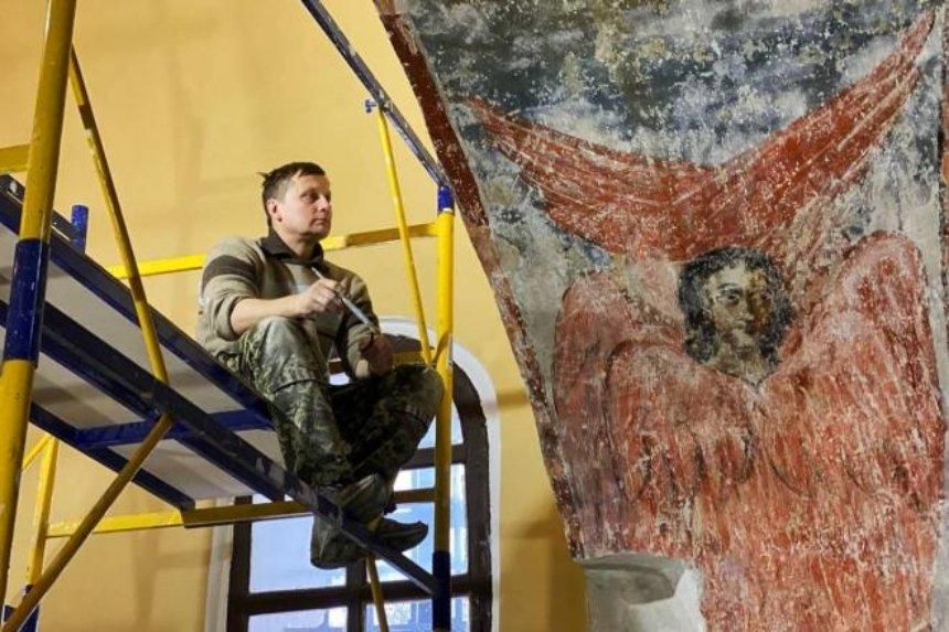 Как в столице проходит реставрация «Софии Киевской»