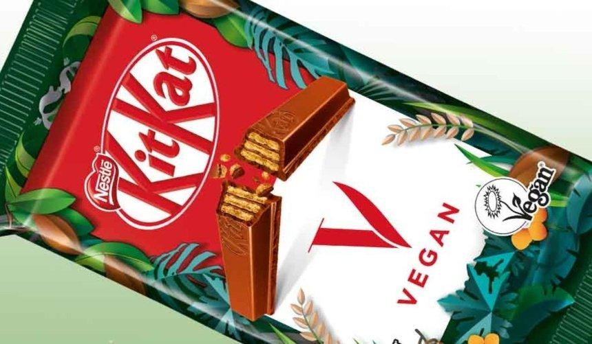 Компания Nestle создала веганский KitKat
