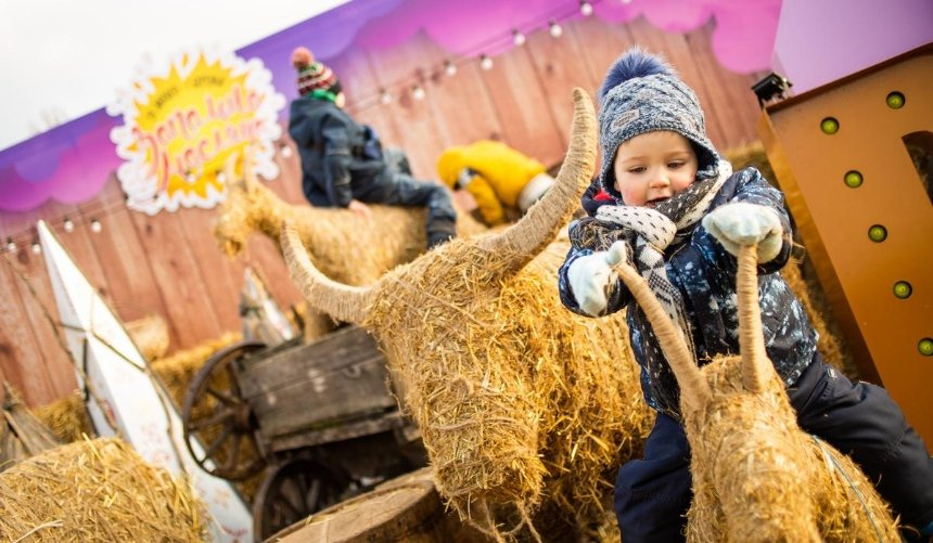 Концерты, народные забавы иблины: наВДНГ устроят празднование Масленицы