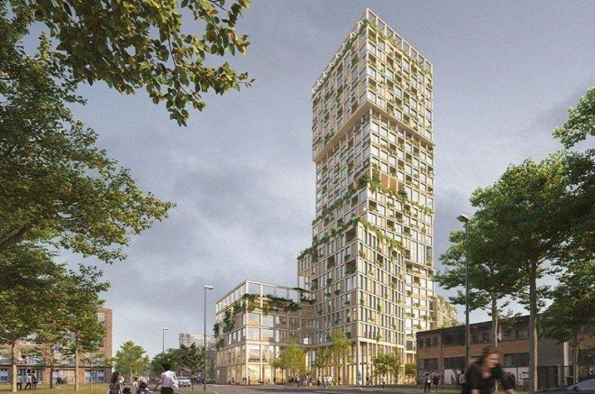 В Берлине построят самый высокий в Европе деревянный небоскреб