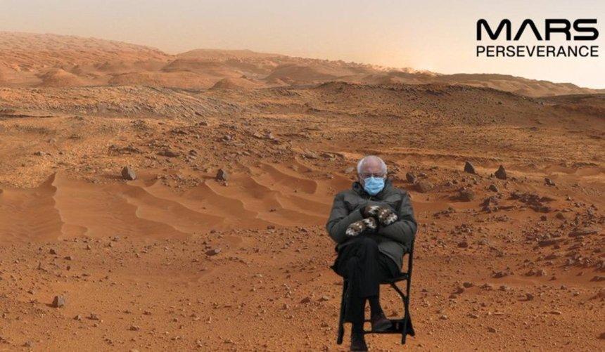 Насайте NASA предложили сфотографироваться наМарсе: как это сделать