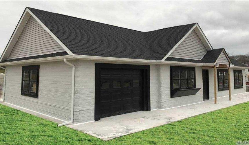 ВСША выставили напродажу дом, напечатанный на3D-принтере: как онвыглядит