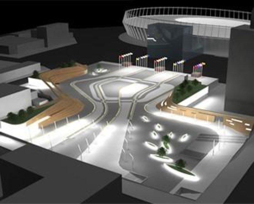 Какой будет Троицкая площадь накануне Евро-2012: мечтать не вредно