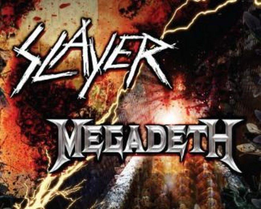 SLAYER и MEGADETH: розыгрыш билетов (завершен)