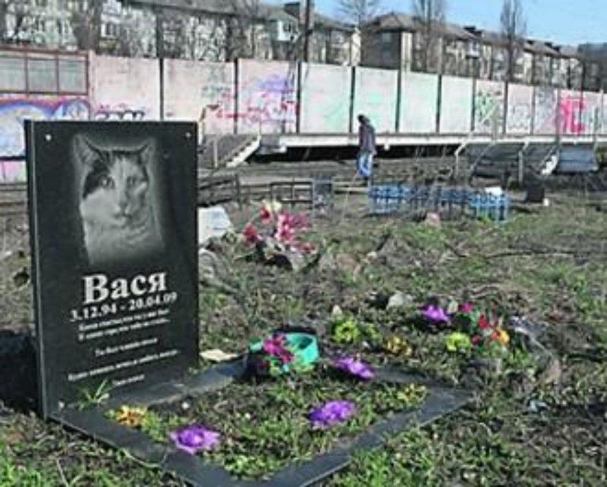Кладбище домашних животных на Русановке могут перенести за пределы Киева