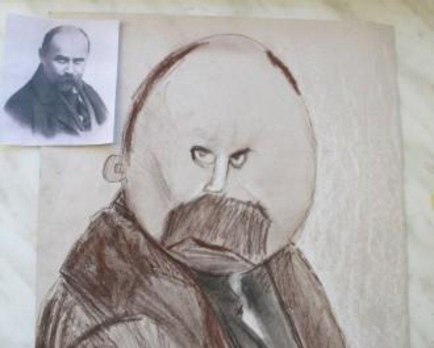 Як діти Кобзаря малювали (фото)