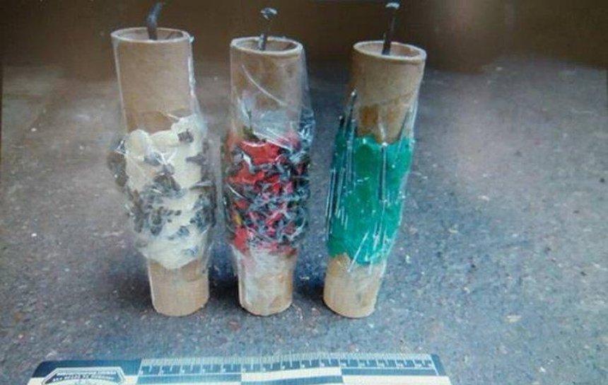 Вибухова знахідка: в Києві на смітнику виявили саморобну вибухівку
